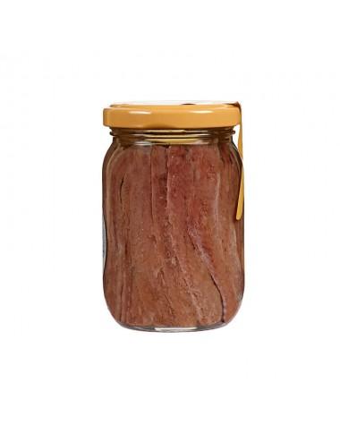 Anchoas Cantábrico en aceite de oliva frasco 210g
