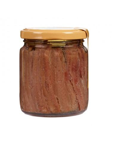 anchoas del cantábrico en aceite de oliva frasco 240g