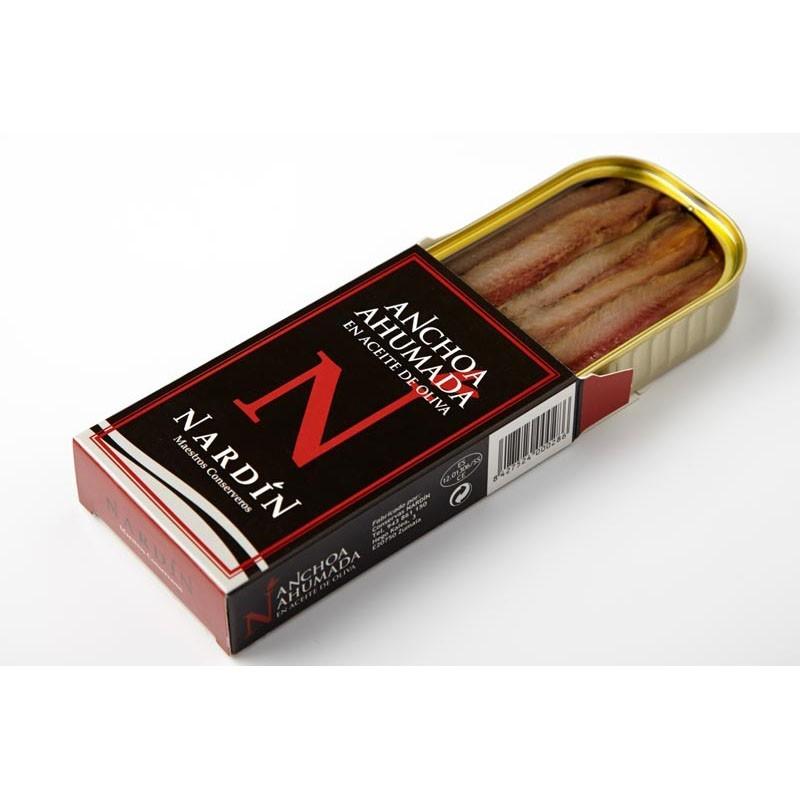 anchoa ahumada en conserva