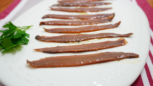 filetes anchoa en aceite de oliva virgen extra