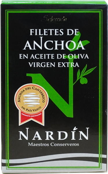 anchoas en aceite de oliva virgen extra
