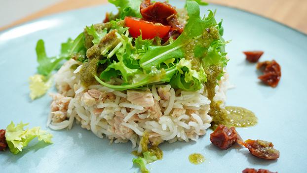 receta de ensalada de arroz con bonito en conserva