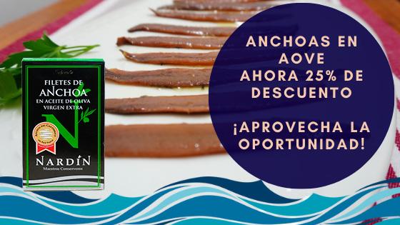 Promoción anchoas del cantábrico en AOVE