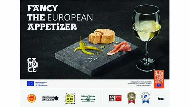 "Conservas Nardín se ha embarcado en el proyecto CAPRICE ""Fancy the European appetizer"""