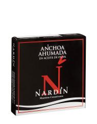 Anchoa ahumada en aceite de oliva de conservas nardín maestros conserveros