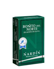 Ventresca y Bonito del norte en aceite de oliva conservas nardín, bonito del cantábrico