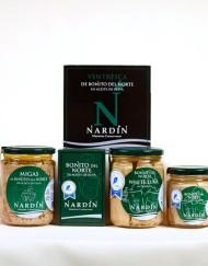 bonito del norte en aceite de oliva productos conservas nardín