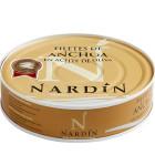 filetes de anchoa en aceite de oliva conservas nardín, anchoa del cantábrico