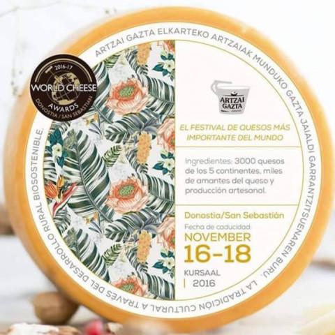 Festival de quesos, world cheese award festival de San Sebastián
