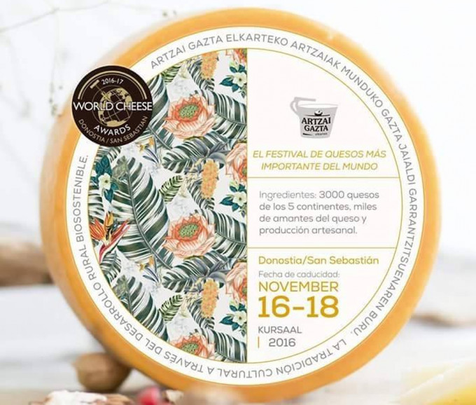 Festival de quesos, world cheese award festival de San Sebastián