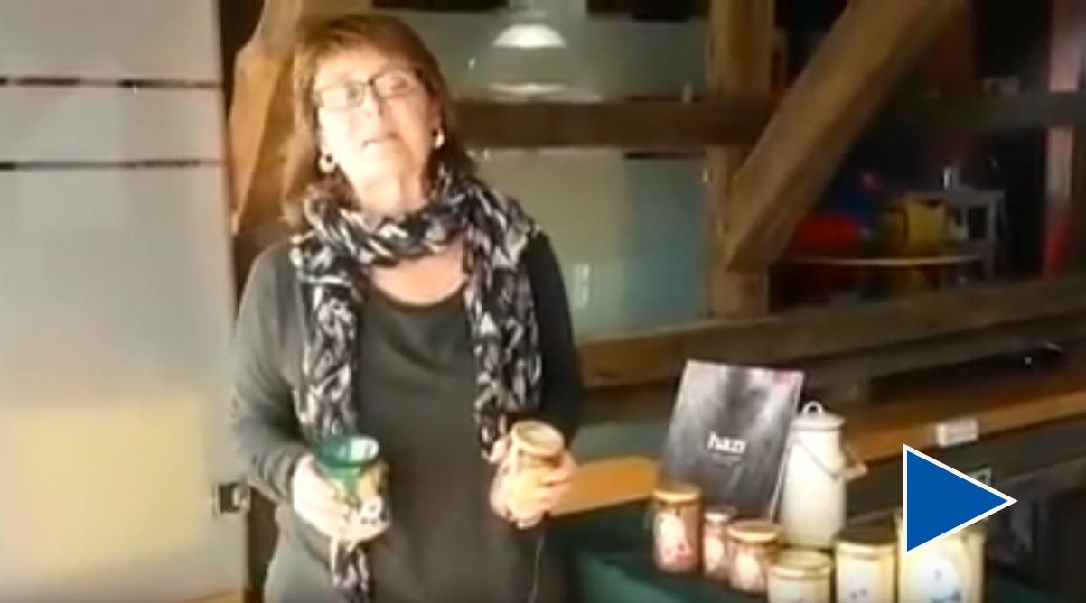 testimonio de Estibalitz Isasti técnico de la unidad de marketing y certificación de HAZI amona maría delicatessen sobre conservas nardín, 20 aniversario
